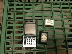 Casio Cassiopeia E105 Rare Handheld Computer PDA with charger EGGY351