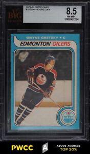 1979 O-Pee-Chee Hockey Wayne Gretzky ROOKIE RC #18 BVG 8.5 NM-MT+ (PWCC-A)