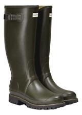 SALE Mens Balmoral 11 Wide Calf Hunter Wellington Boots Green UK 9 Vibram Sole