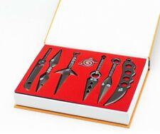 More details for yiputong naruto knife dart anime naruto itachi kunai set, 7 pcs/set japanese