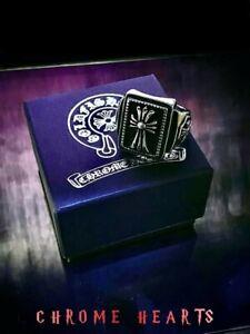 🔥 Chrome Hearts Ring, Cross design, Size 12