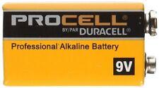 6 Pack - Duracell Procell 9 Volt Professional Alkaline Batteries 9V Battery