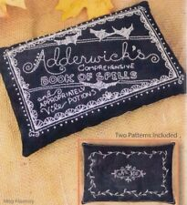 PATTERN - Adderwick's Book of Spells - fun stitchery PATTERN - Crabapple Hill