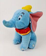 """Blue Dumbo Plush, 7 1/2"""""""