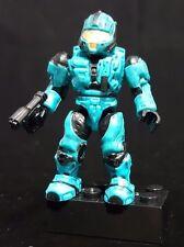 Mega Bloks Halo Series 3 S3 96954 Cyan UNSC CQB Spartan