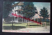 THE FERNWOOD W.D. Pyne, Michillinda, Whitehall, Michigan vintage postcard 1907