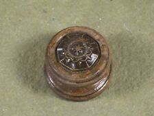 Vintage Wood Tube Radio Knob 1920's 1930's