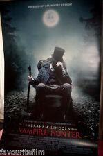 Cinema Banner: ABRAHAM LINCOLN VAMPIRE HUNTER 2012 Benjamin Walker Rufus Sewell
