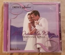 "Drew's Famous ""All Dressed In White"" Wedding Songs Pre-owned CD"
