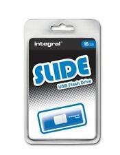 Integral 16GB Slide USB Flash Drive.