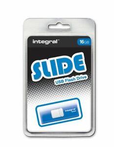 Integral 16GB Slide USB Flash Drive.