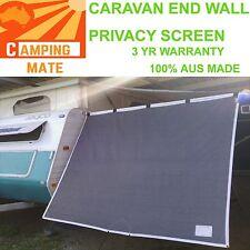 Caravan POP TOP Privacy END WALL Premium screen 2100 x1800mm 100% Aussie