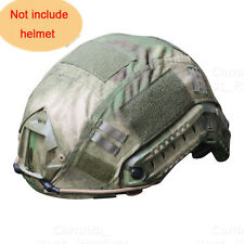 Tactical Airsoft Paintball Military Gear Combat Fast Helmet Cover  AT-FG