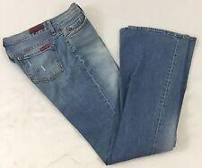 Sacred Blue B2 Women's Boot Cut Flare Denim Jeans Faded Light Wash NWOT Waist 29