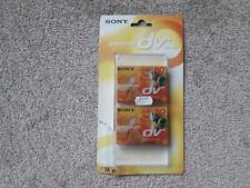 2 x SONY DVM60PR3T Premium mini DV SP60 LP90 digital video cassettes NEW & SEALE