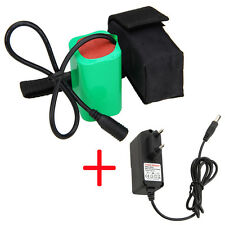 Rechargeable 8.4V 16000mAh 4X18650 Battery Pack W/CH For Bicycle LAMP Bike Torch