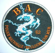 France bac 62 POLICE écusson patch Police