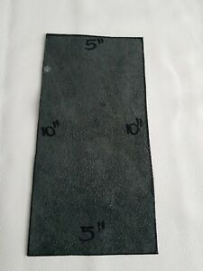 """BLACK GENUINE LEATHER OFFCUTS 10""""x 5"""" TOP ITALIAN QUALITY  LEATHER"""