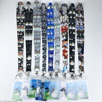 Anime Lanyard Totoro Neck Strap ID Badge Charms KeyChain Gift + Card Series New