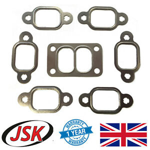 Exhaust Manifold Turbo Gasket Set for Cummins 5.9 6B 6BT 6BTA DAF 45 55 Case IH