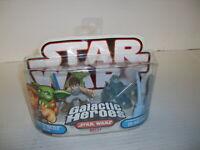 Star Wars Galactic Heroes LUKE SKYWALKER W/ YODA & SPIRIT OF OBI-WAN KENOBI
