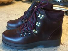 Camper Hiking Boot  US 7, burgundy New in Box  (Size 38--US 7 in this case)