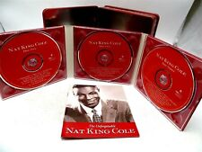 Nat King Cole ♫ The Unforgettable Nat King Cole ♫ 3 CD Set in Tin Box With Book