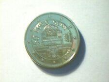 Pièces euro d'Autriche Année 2002 50 Cent
