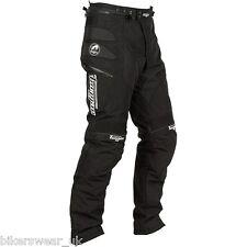 Furygan Duke Trouser Black Textile Motorcycle Pants Regular STD Leg