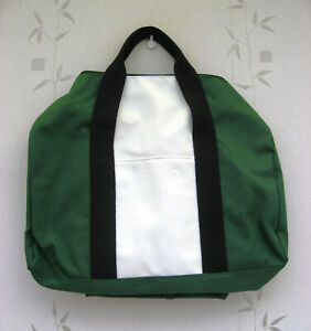 LaCoste Travel/ Duffle/ Weekender Holdall /Gym Bag Green & White New .