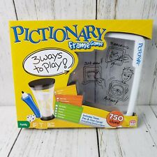 Pictionary Frame Game ~ Fun Family Game w/ 3 Ways to Play by Mattel Ages 8+ NEW