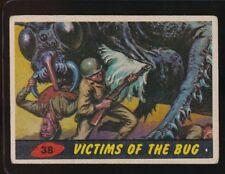 1962 TOPPS  MARS ATTACKS  VG  VICTIMS OF THE BUG  #38   CREASE  102717