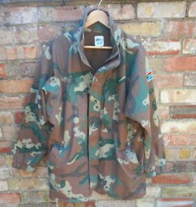 SANDF SOUTH AFRICAN SOLDIER 2000 camo winter Jacket size 95-120cm 2xl
