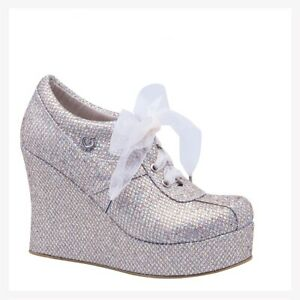 Grezzo Model 1000 Wedge Platform Fashion Bridal Wedding and Party Women Shoes