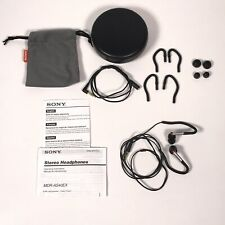 Sony MDR-AS40EX Sports Stereo Headphones W/ Extras EUC
