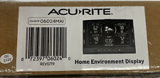 Acurite 06024MAI Home Environment Display. Temperature And Humidity Station