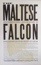 Letterpress Film Noir Poster