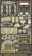 Paragrafix 1/25 Piranha Super Spy Car PE & Decal Set 192 for AMT