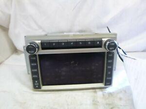 09 10 Lincoln MKX Radio 6 Cd Gps Navigation AA1T-18K931-AC LQY67