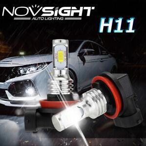 Novsight H11 H8 H9 LED Foglight 80W DRL Lamp Kit Fog Beam Driving Bulb 6000K UK