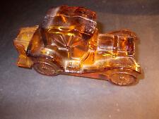Superbe bouteille parfum automobile ancienne AVON 1960 verre miniature voiture !
