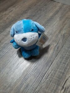 Toys R Us Animal Alley W/Tags blue Dog Plush with wings & Keychain