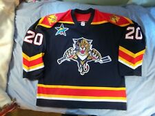 CCM Florida Panthers Authentic Valeri Bure Jersey vintage 90s 56 All-Star Patch