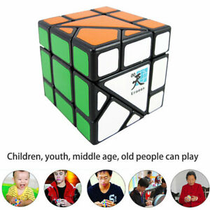 Uranus Speed Twist Magic Cube Puzzle Toy Black Bottom Design Children Toy Gift