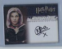 Harry Potter Order of the Phoenix Natalia Tena Nymphadora Tonks Autograph Card