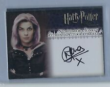 Harry Potter Order of the Phoenix Natalia Tena Nymphadora Tonks Autograph Card