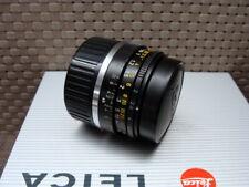 """Leica 11310 - Leitz Summicron-M 1:2/35mm black """"1a Sammlerstück"""" - TOP!"""