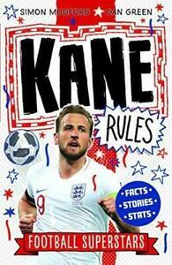 Kane Rules: 3 (Football Superstars), Football Superstars,Simon Mugford, New, Pap