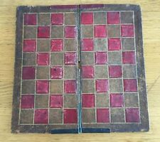Antique 19th Century CHESS Games Board Square