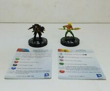 Dc Comics Heroclix Aquaman Vandal Savage With Cards Wizkids 2014